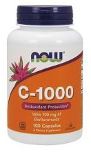 Витамин С-1000 100 капс. Натуральный комплекс с повышенным содержанием витамина С.