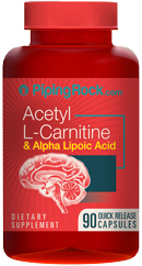 Ацетил-L-Карнитин 100 капсул 500мг(фарманалог -карницетин)