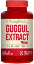 Гуггул (экстракт) 750 мг    90к